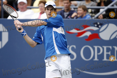 Andy Murray Photo - The number 17 player in the world Andy Murray of Scotland  playing his second round match against Alessio Di Mauro of Italy during the 2006 US Open Championship on September 1 2006 in New York City