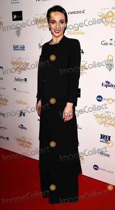 Amanda Abbington Photo - London UK Amanda Abbington at the 17th Annual Whats On Stage Awards held at The Prince Of Wales Theatre London on Sunday 19 February 2017 Ref LMK392 -61730-200217Vivienne VincentLandmark Media WWWLMKMEDIACOM