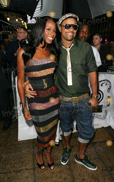 Jamelia Niela Davis Photo - London UK  Singer Jamelia Niela Davis with DJ Shaggy at the MOBO Awards 2007 Nominations Launch at Movida London  She has been nominated a MOBO for Best UK female singer whilst Shaggy received on as Best Reggae act22nd  August 2007Keith MayhewLandmark media