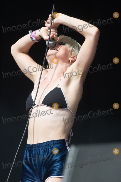Amy Taylor Photo - London UK  Lead singer Amy Taylor and guitarist Dec Martens of Australian band Amyl and the Sniffers on The East Stage at The All Points East Festival 25th May 2019 RefLMK370-2500-280519Justin NgLandmark MediaWWWLMKMEDIACOM