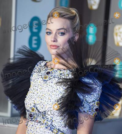 Margot Robbie Photo - London UK Margot Robbie   at EE British Academy Film Awards at the Royal Albert Hall Kensington London on Sunday February 10th 2019Ref LMK386-S2120-110219Gary MitchellLandmark Media WWWLMKMEDIACOM