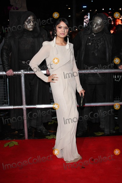 Afshan Azad Photo - London UK  111110Afshan Azad at the World Premiere of the film Harry Potter and the Deathly Hallows Part 1 held at the Odeon Leicester Square11 November 2010Keith MayhewLandmark Media