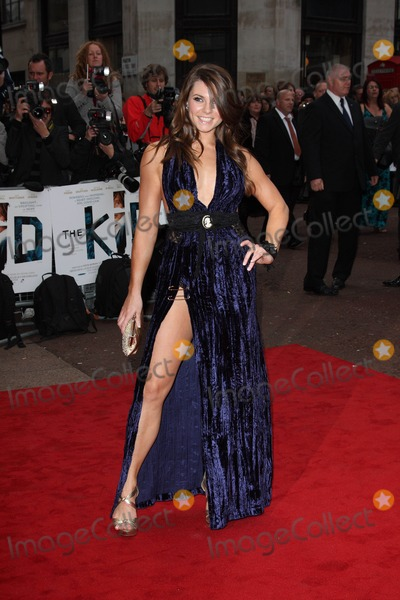Alison Carroll Photo - London UK Alison Carroll at the Premiere of The Kid at the Odeon West End Leicester Square London 15th September 2010Keith MayhewLandmark Media