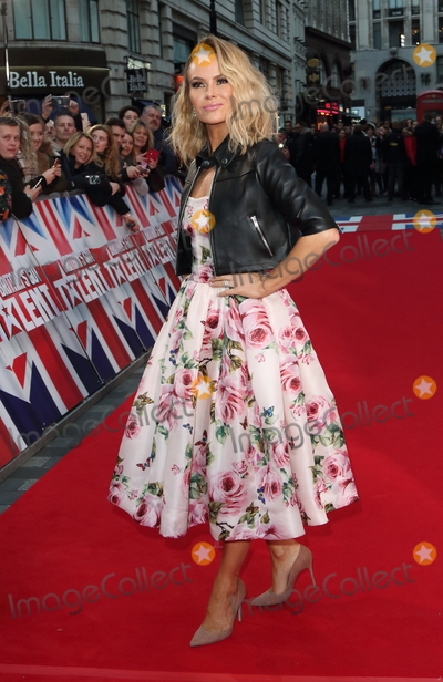 Amanda Holden Photo - London UK  Amanda Holden at  Britains Got Talent Judges Photocall on the Red Carpet at the London Palladium London on Sunday January 28th 2018Ref LMK73-J1469-290118Keith MayhewLandmark MediaWWWLMKMEDIACOM
