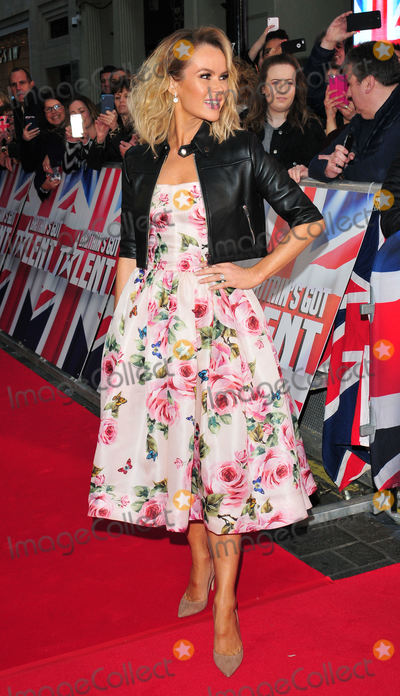 Amanda Holden Photo - London UK Amanda Holden at  Britains Got Talent Judges Photocall on the Red Carpet at the London Palladium London on Sunday January 28th 2018Ref LMK315-J1470-290118Can NguyenLandmark MediaWWWLMKMEDIACOM