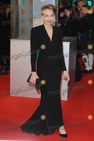 Kristin Scott Thomas Photo - London UK Kristin Scott Thomas at the EE BAFTA British Academy Film Awards Red Carpet Arrivals at the Royal Opera House Covent Garden London 8th February  2015 RefLMK200-50550-090215Landmark MediaWWWLMKMEDIACOM