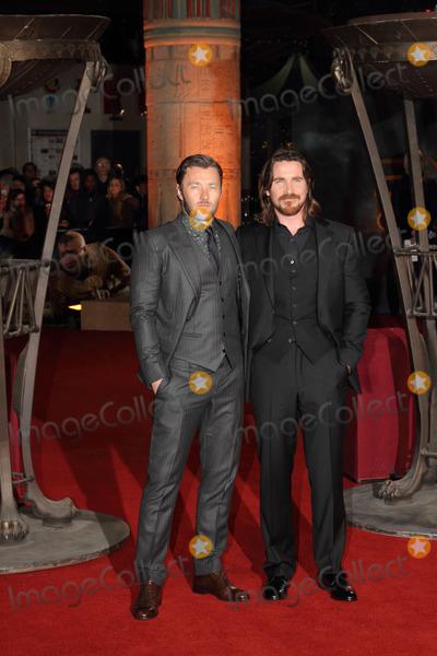 Joel Edgerton Photo - London UK Joel Edgerton and Christian Bale  at the World Premiere of Exodus Gods And Kings at the Odeon Leicester Square London on December 3rd 2014Ref LMK73-50206-041411Keith MayhewLandmark Media WWWLMKMEDIACOM