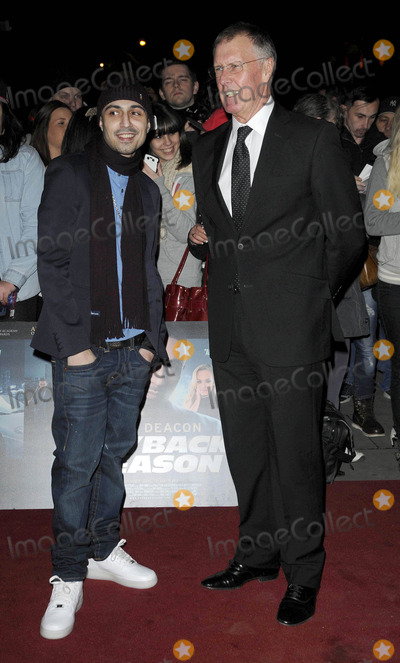 Adam Deacon Photo - London UK Adam Deacon and Sir Geoff Hurst at the Payback Season UK film premiere held at Odeon Covent Garden cinema 6th March 2012Can NguyenLandmark Media