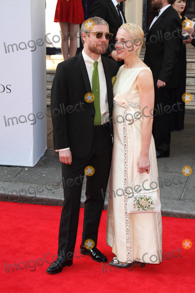 Amanda Abbington Photo - London UK Martin Freeman and Amanda Abbington  at the Arqiva BAFTA Television Awards Red carpet arrivals at the Theatre Royal Drury Lane London on 18th May 2014RefLMK73-48511-190514 Keith MayhewLandmark MediaWWWLMKMEDIACOM