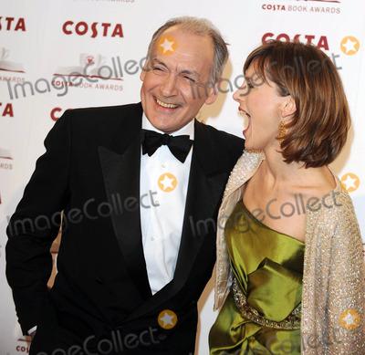 Alastair Stewart Photo - London UK Katie Derham and Alastair Stewart at Costa Book Awards held at the Intercontinental Hotel Park Lane London 27th January 2009Ali KadinskyLandmark Media