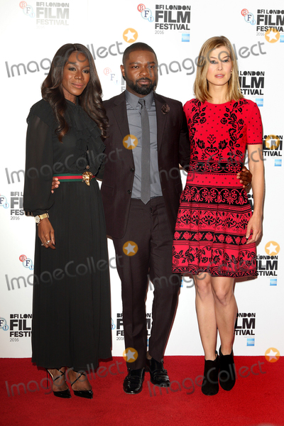 Amma Asante Photo - London UKAmma Asante David Oyelowo Rosamund Pike at A United Kingdom photo call during London Film Festival at The Mayfair Hotel London on October 5th 2016 Ref LMK73 -61095-061016Keith MayhewLandmark Media WWWLMKMEDIACOM