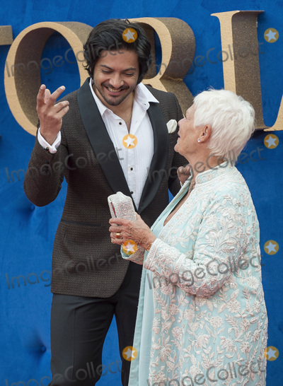 Ali Fazal Photo - London UK Ali Fazal and Judi Dench  at the Victoria  Abdul UK premiere held at Odeon Leicester Square on September 5 2017 in London EnglandRef LMK386-J706-060917Gary MitchellLandmark MediaWWWLMKMEDIACOM