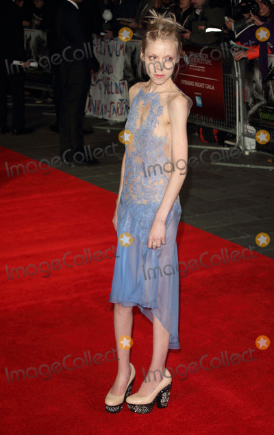 Antonia Campbell-Hughes Photo - London UK Antonia Campbell-Hughes at the BFI London Film Festival Opening Gala screening of Frankenweenie 3D at the Odeon Leicester Square 10th October 2012Keith MayhewLandmark Media