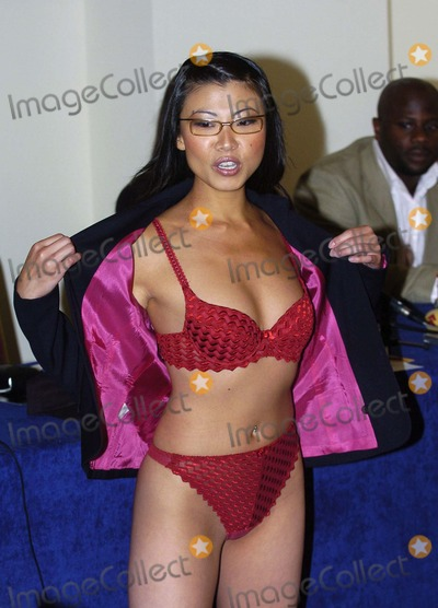 Lily Kwan Photo - London Presenter Lily Kwan at the press launch for Naked News UK The British version of the informative stripping-news programme11 August 2004AHLandmark Media