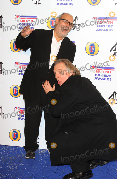 Alan Yentob Photo - London UK  Alan Yentob and Rik Mayall   at the British Comedy Awards at Fountain Studios Wembley London  16th December 2011 Keith MayhewLandmark Media