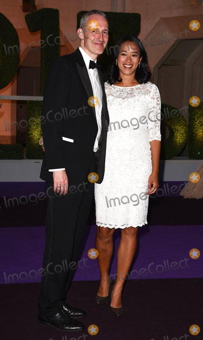 Anne Keothavong Photo - London UK Andrew Bretherton and Anne Keothavong at The Wimbledon Champions Dinner held at The Guildhall Gresham Street London on Sunday 16 July 2017 Ref LMK392-S495-170717Vivienne VincentLandmark Media WWWLMKMEDIACOM