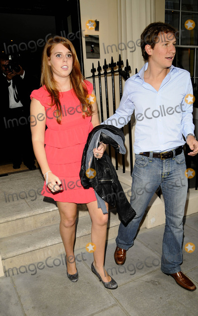 Dave Clark Photo - London UK Princess Beatrice and Dave Clark at the Boodles Wonderland Collection Launch Party at the Haymarket Hotel09 June 2008Can NguyenLandmark Media