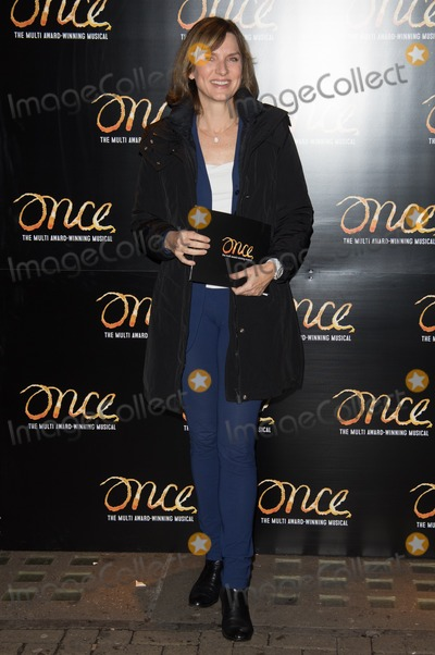 Fiona Bruce Photo - London UK Fiona Bruce at the Once Press Night featuring Ronan Keating in the lead role of Guy at The Phoenix Theatre London England UK on Tuesday 25th November 2014Ref LMK370-50170-261114Justin NgLandmark MediaWWWLMKMEDIACOM