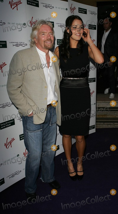 Ana Ivanovich Photo - London UK  Richard Branson and Ana Ivanovich at the Sony Ericsson WTA Tour pre-Wimbledon Player Party hosted by Richard Branson and held at Kensington Roof Gardens19 June 2008 Ref  Dave NortonLandmark Media