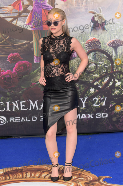 Alice Chater Photo - London UK Alice Chater at  The European Premiere of Alice Through The Looking Glass at Leicester Square Garden London England UK on Tuesday 10 May 2016 Ref LMK370-22697-071010 Justin NgLandmark MediaWWWLMKMEDIACOM
