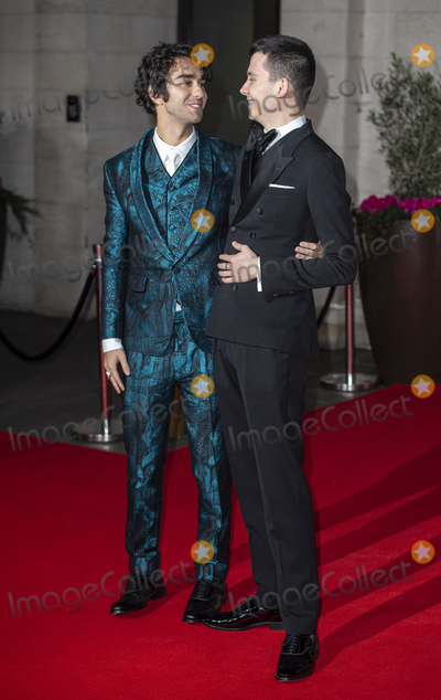 Alex Wolff Photo - London UK  Alex Wolff and Asa Butterfield   at the EE British Academy Film Awards 2020 After Party at The Grosvenor House Hotel 2nd February 2020  RefLMK386-S2825-030220Gary MitchellLandmark Media WWWLMKMEDIACOM