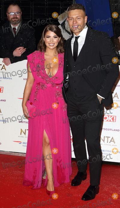 Alex Bowen Photo - London UK Olivia Buckland and Alex Bowen at National Television Awards at The O2 Peninsula Square London on Tuesday January 22nd 2019Ref LMK73-J4234-230119Keith MayhewLandmark MediaWWWLMKMEDIACOM