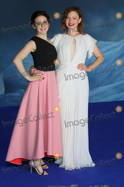 Cinderella Photo - London UK Sophie McShera and Holliday Grainger at the UK Premiere of Cinderella at Odeon Leicester Square London on March 19th 2015Ref LMK73-50753-200315Keith MayhewLandmark Media WWWLMKMEDIACOM