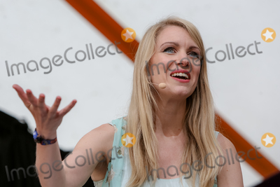 Rachel Parris Photo - Southwold Suffolk Comedian and star of BBC2s The Mash Report Rachel Parris performs in the Comedy Arena on the first day of the  2018 Latitude Festival  at Henham Park near Southwold Suffolk 13th July 2018Ref LMK73-J2315-160718Keith MayhewLandmark MediaWWWLMKMEDIACOM