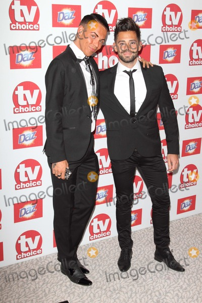 Bobby Norris Photo - London UK Bobby Cole Norris ad Charlie at the TV Choice Awards - sponsored by Daz - Inside Arrivals at the Dorchester Hotel Park Lane 10th September 2012Keith MayhewLandmark Media