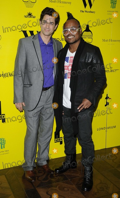 apldeap Photo - London UK   Adam Garcia and ApldeAp (Allan Pineda Lindo Jr) from the Black Eyed Peas at the ApldeAp Foundation charity dinner to raise funds for the We Can Be Anything campaign The Westbury Hotel Conduit St London 19th May 2012Can NguyenLandmark Media