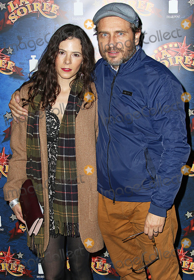 Elaine Cassidy Photo - London UK Elaine Cassidy  Stephen Lord at La Soiree show press night at Southbank Centre London Britain  6th November 2015Ref LMK394-58680-091115Brett CoveLandmark Media WWWLMKMEDIACOM