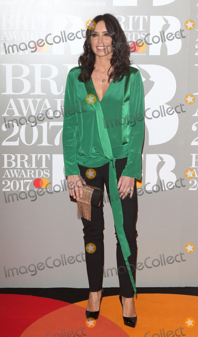 Christine Bleakley Photo - London UK Christine Bleakley at The BRIT Awards 2017 at The O2 Peninsula Square London on February 22nd 2017Ref LMK73-63022-230217Keith MayhewLandmark MediaWWWLMKMEDIACOM