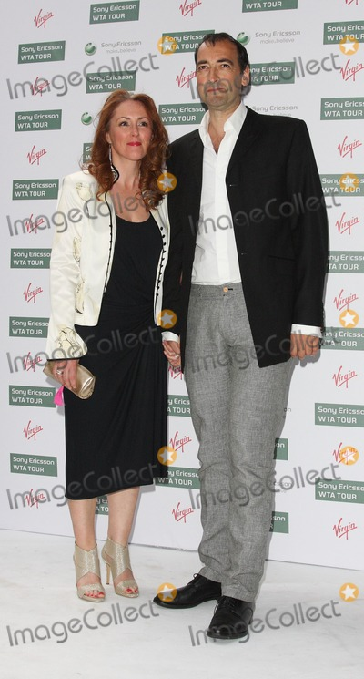 Alistair McGowan Photo - LondonUK   Alistair McGowan and guest at the Pre Wimbledon Party at the Kensington Roof Gardens  London 17th June 2010  Keith MayhewLandmark Media