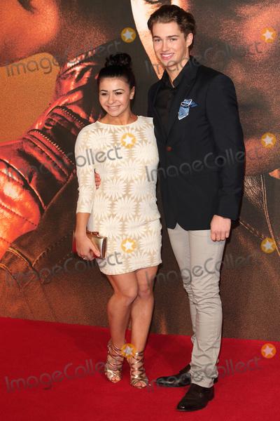AJ Pritchard Photo - London UK  Claudia Frangapane and AJ Pritchard   at  Jack Reacher Never Go Back European Premiere at Cineworld Leicester Square   20 October 2016 Ref  LMK73-62642-211016Keith MayhewLandmark Media WWWLMKMEDIACOM