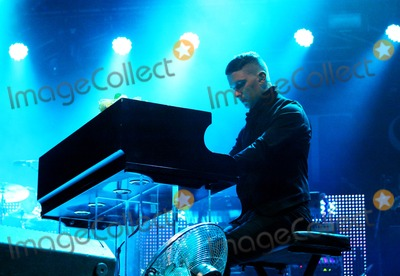 Adam Anderson Photo - London UK Adam Anderson of Hurts performing at Somerset House in London 14th July 2011 Justyna SankoLandmark Media