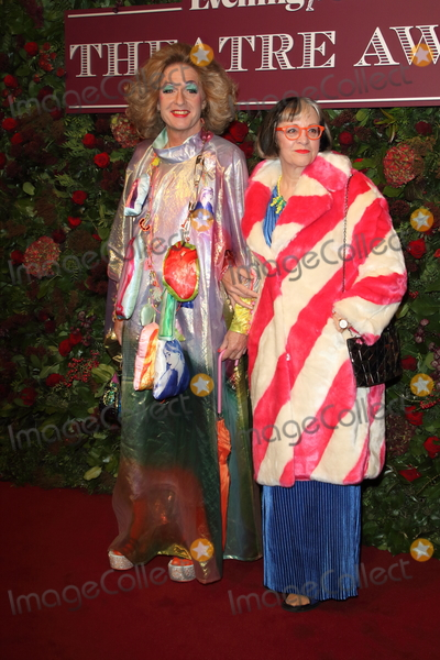 Grayson Perry Photo - London UK Grayson Perry and Philippa Perry    at the 65th Evening Standard Theatre Awards London Coliseum London England on the 24th  November 2019Ref LMK73-S2621-251119Keith MayhewLandmark MediaWWWLMKMEDIACOM