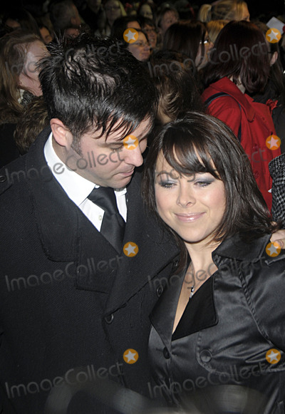 Johnny Shentall Photo - London UK Lisa Scott-Lee and Johnny Shentall arriving for the Stephen Gately Memorial Service at the Palace Theatre London 29th November 2009 SydLandmark Media