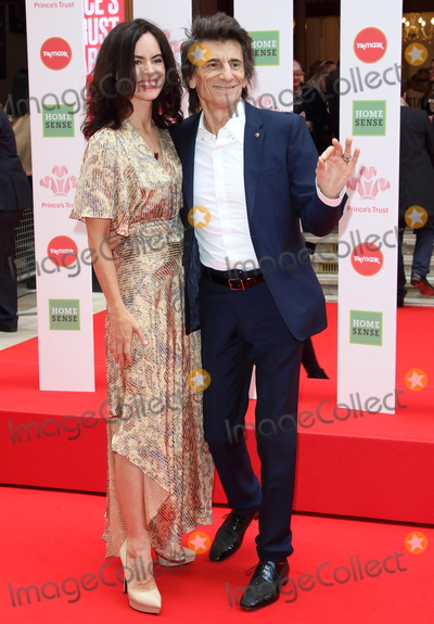 Ronnie Woods Photo - London UK Sally Humphreys and Ronnie Wood at The Princes Trust and TKMaxx  Homesense Awards 2020  at the London Palladium on March 11th 2020 Ref LMK73-J6351-120320Keith MayhewLandmark MediaWWWLMKMEDIACOM