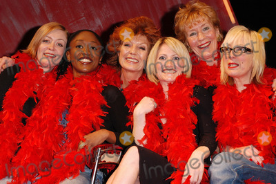 Alison Newman Photo - London From the left Alison Newman Diane Parish Rula Lenska Lucy Speed Christine Hamilton and Jenny Eclair who will be making apprearances in the production of The Vagina Monologues throughout its run at The Wyndhams Theatre Leicester Square London4 April 2005Ali KadinskyLANDMARK MEDIA