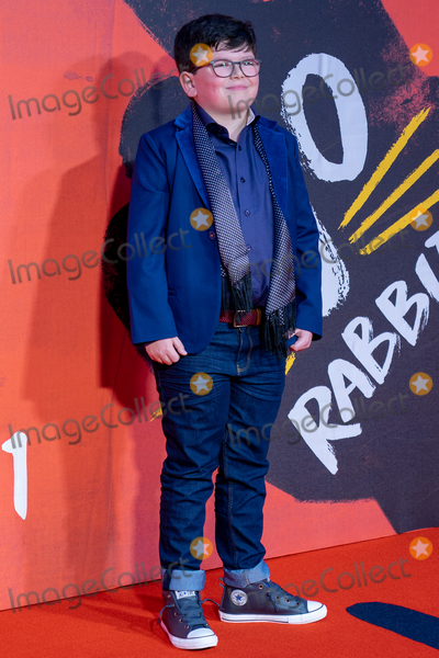 Archie Yates Photo - London UK Archie Yates at the JoJo Rabbit European Premiere during the 63rd BFI London Film Festival at the Odeon Luxe Leicester Square on October 05 2019 in London England Ref LMK399-J5551-061019Robin Pope Landmark MediaWWWLMKMEDIACOM