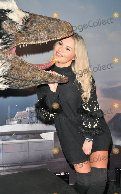 Chyna Ellis Photo - London UK  130218Chyna Ellis at the launch of Dinosaurs In The Wild immersive experience VIP preview Greenwich Peninsula London13 February 2018Ref LMK315-MB1150-150218Can NguyenLandmark MediaWWWLMKMEDIACOM