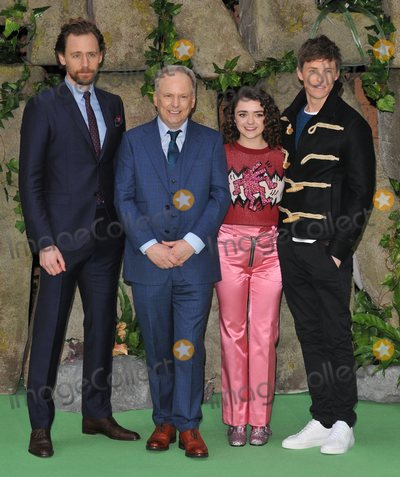 Tom   Hiddleston Photo - London UK Tom Hiddleston Nick Park Maisie Williams and Eddie Redmayne at the Early Man World Premiere held at BFI IMAX on January 14 2018 in London England Ref LMK392-J1387-150118Vivienne VincentLandmark MediaWWWLMKMEDIACOM