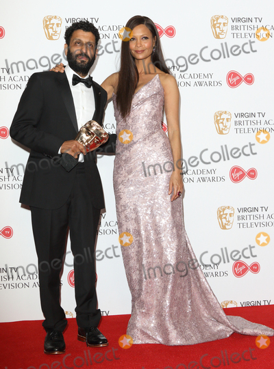 Adeel Akhtar Photo - London UK Adeel Akhtar and Thandie Newton at Virgin TV British Academy Television Awards - Winners Room - at the Royal Festival Hall South Bank London on May 14th 2017Ref LMK73-J279-150517Keith MayhewLandmark Media WWWLMKMEDIACOM