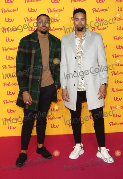 Ashley Banjo Photo - London UK Jordan Banjo and Ashley Banjo at ITV Palooza at the Royal Festival Hall Belvedere Road London on Tuesday 16 October 2018Ref LMK73-J2793-171018Keith MayhewLandmark MediaWWWLMKMEDIACOM