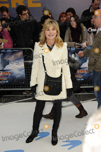 Anthea Turner Photo - London UK Anthea Turner  at the European Premiere of Happy Feet Two held at the Empire Leicester Square 20th November 2011SydLandmark Media