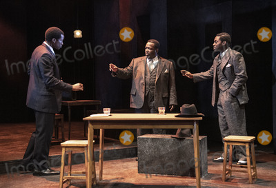 Arthur Miller Photo - London UK   Wendell Pierce Sope Dirisu and Natey Jones   at the photo call for the Arthur Miller classic Death of a Salesman at the Piccadilly theatre West End London 1st November 2019 RefLMK386-S2535-011119 Gary MitchellLandmark Media WWWLMKMEDIACOM