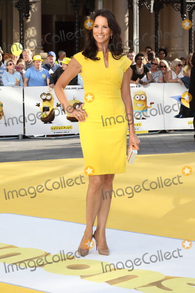 Andrea Mclean Photo - London UK Andrea McLean at World Premiere of Minions at the Odeon Leicester Square London on June 11th 2015Ref LMK73-51449-120615Keith MayhewLandmark Media WWWLMKMEDIACOM