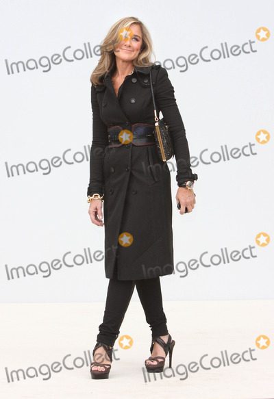ANGELA AHRENDTS Photo - London UK Angela Ahrendts at the Burberry Prorsum SS Show Arrivals at Kensington Gardens 19th September 2011Keith MayhewLandmark Media