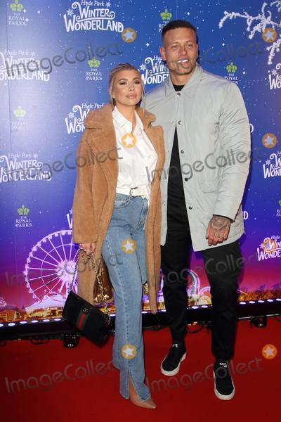 Alex Bowen Photo - London UK Olivia Buckland and Alex Bowen  at Winter Wonderland 2019 VIP Launch at Hyde Park London on November 20th 2019Ref LMK73-J5836-211119Keith MayhewLandmark MediaWWWLMKMEDIACOM