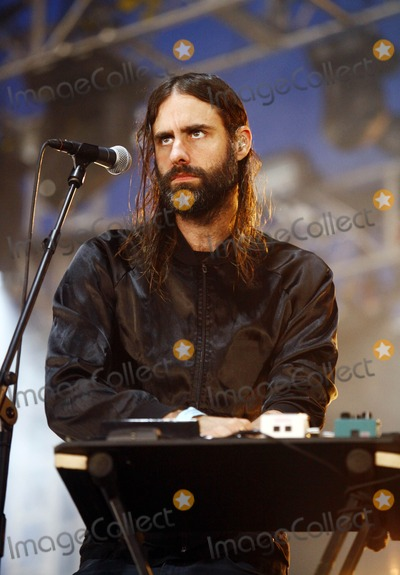 Andrew Wyatt Photo - Reading UK Andrew Wyatt of Miike Snow performing live during Reading Festival 2012 at Richfield Avenue in Reading  August 25 2012 Justyna SankoLandmark Media